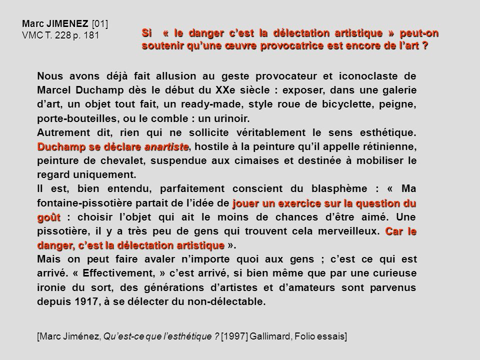 Marc JIMENEZ [01] VMC T. 228 p. 181.